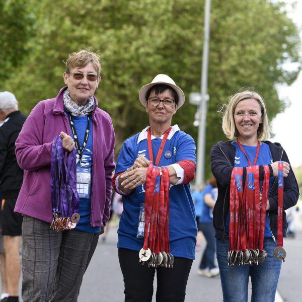 Marathon. LES COURANTS DE LA LIBERTE 2019, Edition 32. Caen (14), dimanchei 16 juin 2019. Photo: � Yves MAINGUY